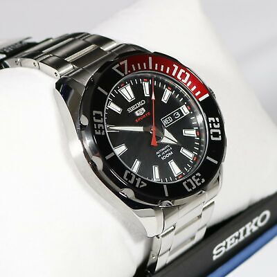Seiko 5 Sports Stainless Steel Automatic Men's Watch SRPC57K1