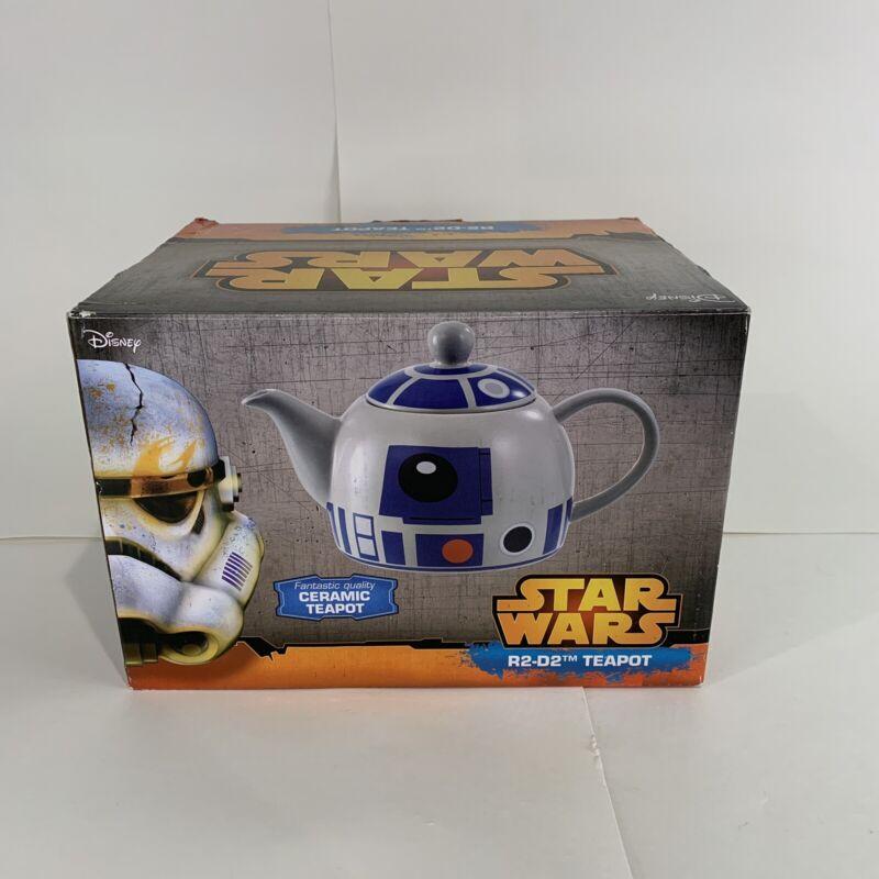 Star Wars R2D2 Ceramic Teapot Brand New In Box