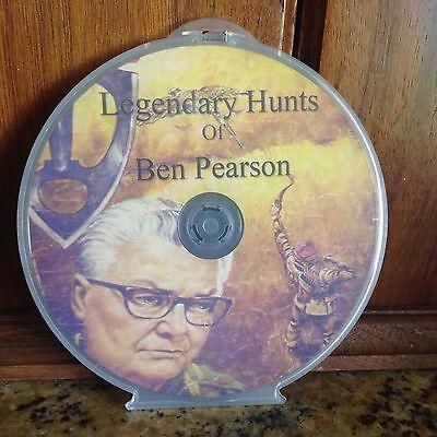 Legendary Hunts of Ben Pearson DVD