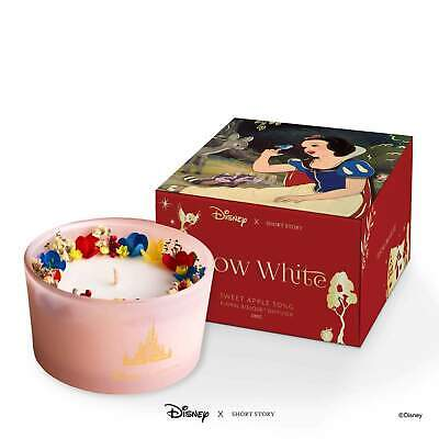 Disney X Short Story Candle – Snow White - Sweet Apple Scent - 40 Hours Burn