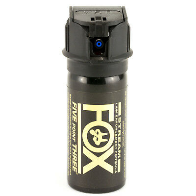 (PS Fox Labs 5.3 Million SHU Tactical Police Pepper Spray Stream Flip-Top 1.5oz )