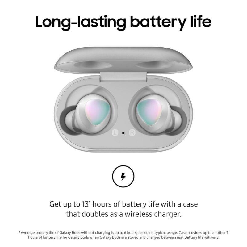 NEW Samsung Galaxy Buds Wireless In-Ear Headset - White (SM-R170NZWAXAR)