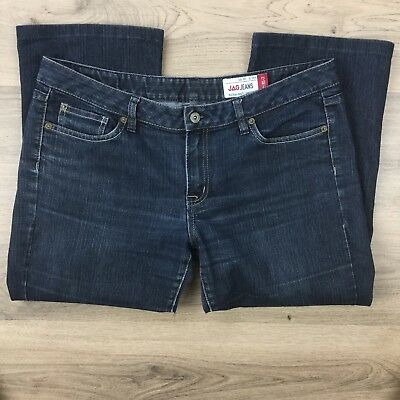 Jag Jeans Women's Jeans Upcycled Mid Rise Capri Fit 81-2 Size 16 W36 L27 (AX8)