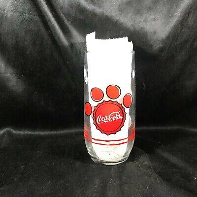Rare Vintage Coca Cola Beverage Glass Memorabilia Polar Bear 1999 Edition