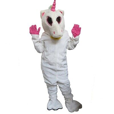Einhorn Pony Pferd Erwachsene Magische Kostüm Halloween Geburtstagsparty (Pferd Kostüm Mädchen)