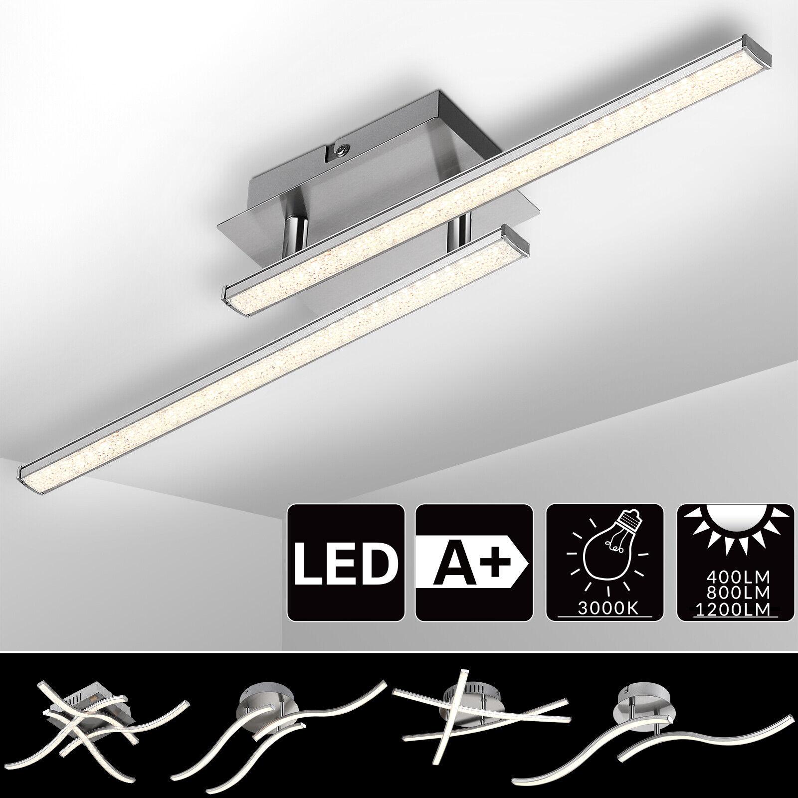 Monzana® Deckenleuchte LED Deckenlampe Moderne Wohnzimmerlampe Beleuchtung Lampe