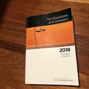 Taxation law question and answers 2018 | Textbooks | Gumtree