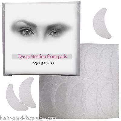 Professional Eye Protection Foam Pads For Eyelash Tinting Tint Dye papers sheets