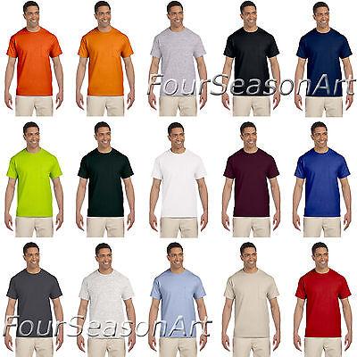 Gildan Mens Ultra Cotton T Shirt with Pocket Tee S M L XL 2XL 3XL 4XL 5XL 2300