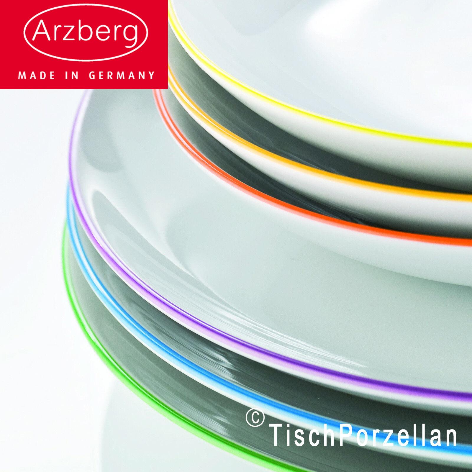 1x arzberg porzellan cucina colori green gr n suppenteller. Black Bedroom Furniture Sets. Home Design Ideas