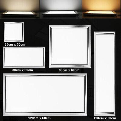 LED Panel Ultraslim Lampe Leuchte Deckenleuchte Pendelleuchte Backlight 12-64W Ultra Slim Panel