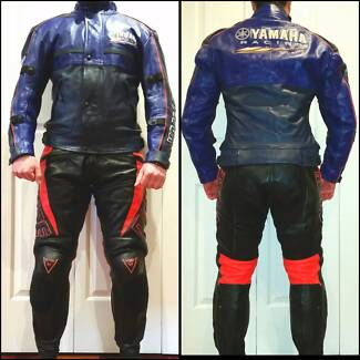 Motorcycle Leathers Genuine YAMAHA Made in France Brunswick Moreland Area Preview