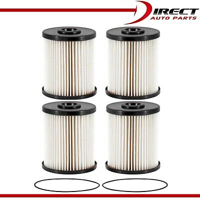 4 - FUEL FILTER DODGE RAM 2500 3500 5.9L Cummins Turbo Diesel 2000-2010