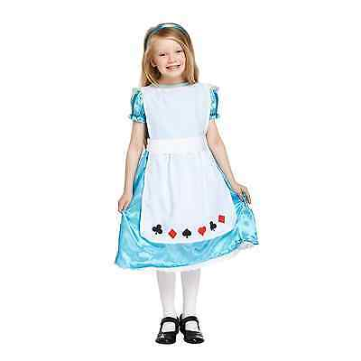 Alice In Wonderland Dress Up (Alice in Wonderland Fancy Dress Up Costume Outfit Party Girls Traditional Book)