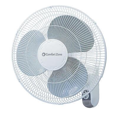 Model CZTFR1BK Comfort Zone 31/'/' Oscillating Tower 3-Speed Fan Black with Rem