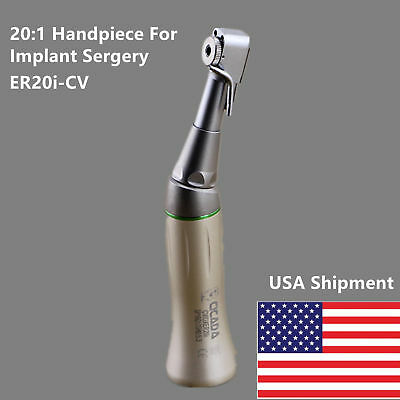 Nsk E-type Dental 201 Reduction Speed Handpiece Implant Sergery Contra Angle Us
