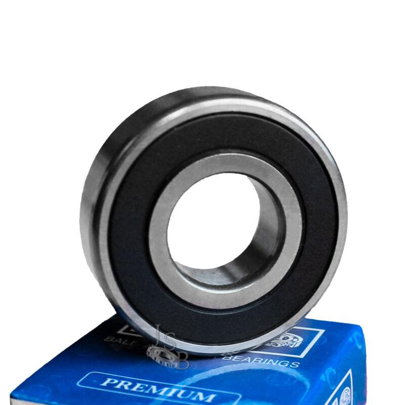 "(Qty. 2) R4-2RS C3 EMQ Premium Seal Ball Bearings ABEC-3 0.25""x0.625""x0.1960"""