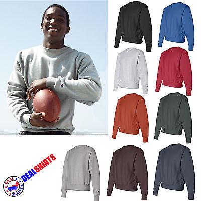 Champion Crew Sweatshirt (Champion Reverse Weave® Crew Neck Cotton Polyester Sweat Shirt S149 S 3XL)