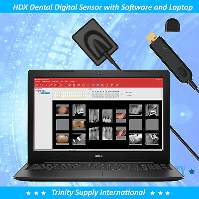 Digital X-ray Dental Intraoral Sensor Standar Size 1.5 Laptop 15. All In One