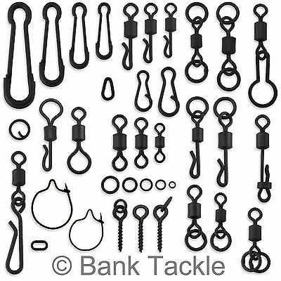 Carp Swivels Quick Change Hooklink Clips Links Rig Rings Bait Screws Tackle