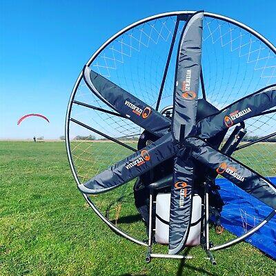 Yueny Carbon Fiber BlackHawk HE125 Powered Paraglider Paramotor Propeller 125cm