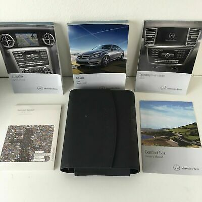 2014 14 Mercedes-Benz C-Class C250 C350 C63 AMG Coupe Owners Manual COMAND Books