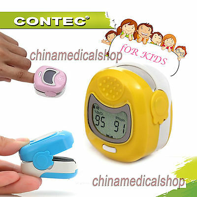 Lcd Pulse Oximeter Finger Tip Childrenkidspediatric Use Spo2 Oxygen Saturation