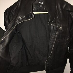 Leather jacket Simons For Sale
