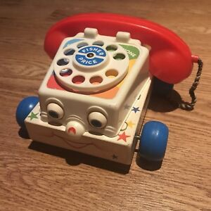 Vintage Fisher Price Chatter Phone