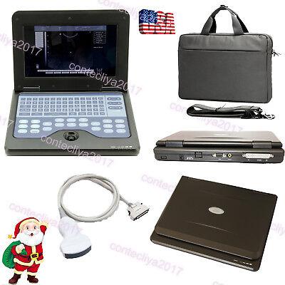Us Seller Portable Ultrasound Scanner Digital Laptop Machine Convex Probefdace
