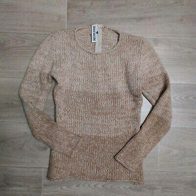 Iris Von Arnim Cashmere Women's Neck Zip Sweater beige