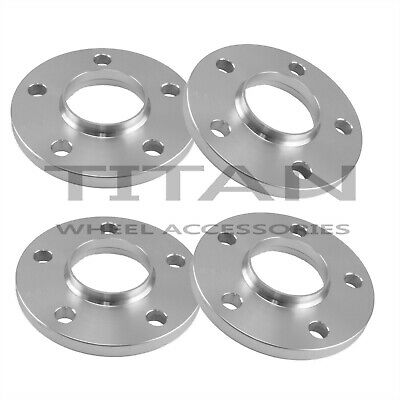 (4) 12mm 5x114.3 Wheel Centric Spacers | Fits Acura TSX RL TL Integra Hubcentric