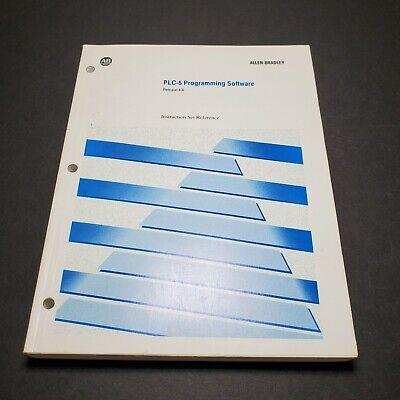 Allen-bradley Plc-5 Programming Software Release 4.4 Set Reference Manual