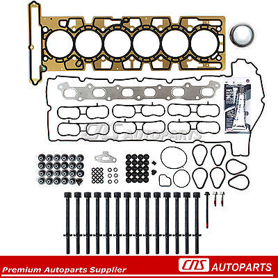 Head Gasket Bolts Set 02-05 Chevrolet Buick GMC Oldsmobile Isuzu 4.2L DOHC VIN S
