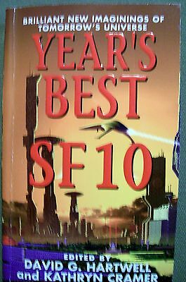 Years Best Sf 10 By Hartwell   Cramer  2005  Paperback
