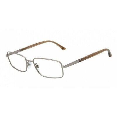 NEW GIORGIO ARMANI EYEGLASSES AR 5006 3005 53 MATTE CHROME (Giorgio Armani Mens Glasses)