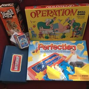 Board game collection (3 classic games + 1 Disney)