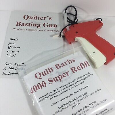 Dennison Quilting Fine Fabric Price Tagging Gun 10312  4000 12 Clear Barbs