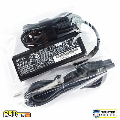 Used, Genuine Sony Vaio VGP-AC19V74 19.5V/5V Laptop AC Adapter Power Supply Charger for sale  Shipping to India