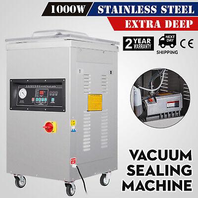 1000W Vacuum Packing Sealing Sealer Machine Extra Deep 110V Power Industrial