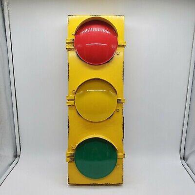 "Hobby Lobby Battery Operated Wall Traffic Lights - 23 1/2"" x 8 1/2"" x 4 1/2"""