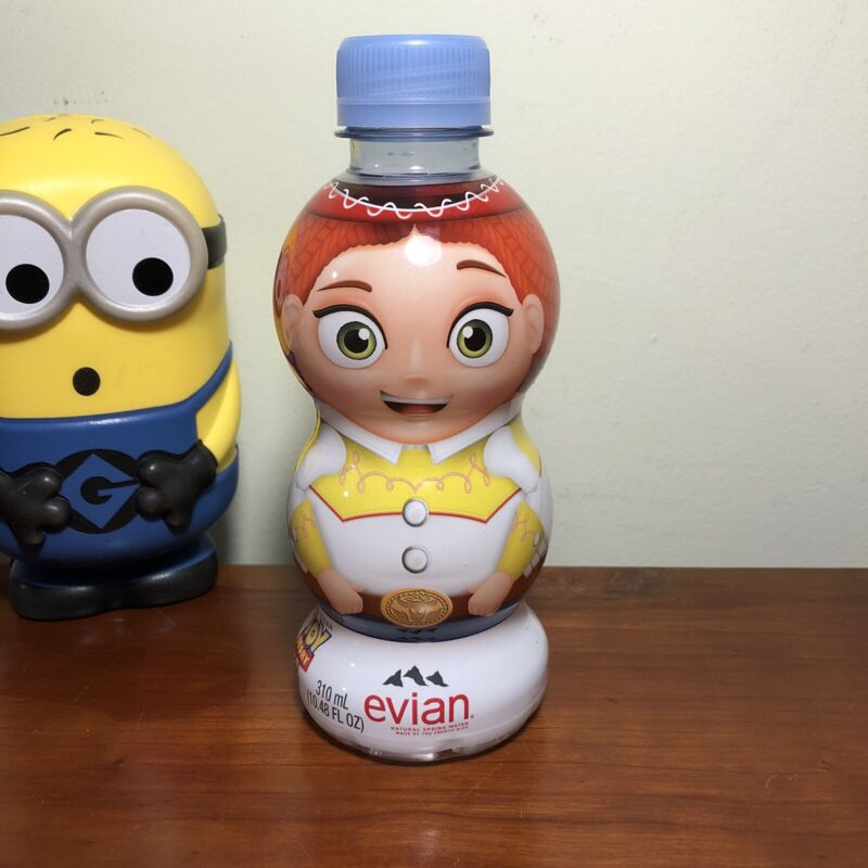 Toy Story 4 Evian Water Bottle Jessie, Collectable Water Bottle