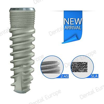 Spiral Dental Implant Sterile Ready To Use Original Certificate Of Fdaisoce