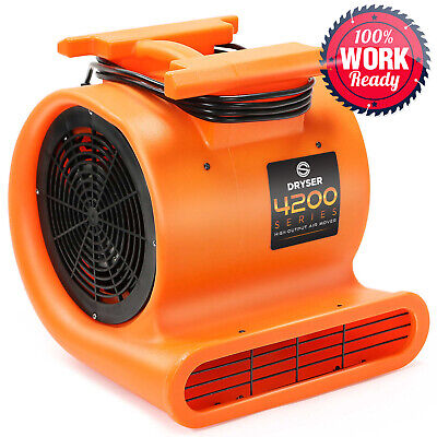 12 Air Mover Carpet Dryers 3 Speed 1 Hp Stackable Floor Blower Drying Fan