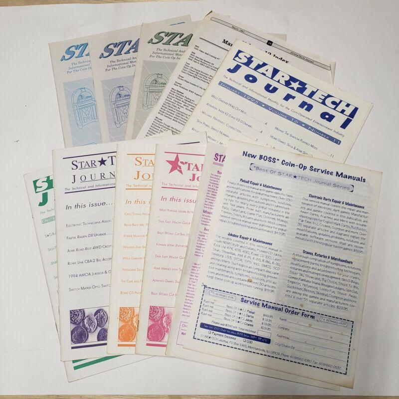 8 issues STAR TECH JOURNAL-90
