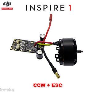 Dji inspire 1 drone wm610 part 5 3510 350kv brushless ccw for Dji motors and esc