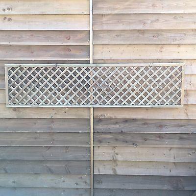 Trellis panel - 183 x 45 cm Diagonal  design Pressure treated