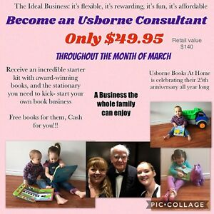 Become An Usborne Consultant