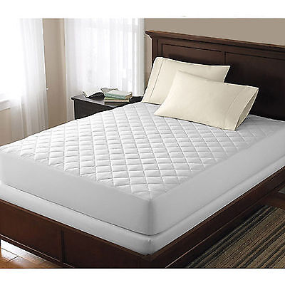 Quilted Mattress Covers - Bed Bug Dust Mite Allergy Relief Waterproof Quilted Mattress cover Pad Protector