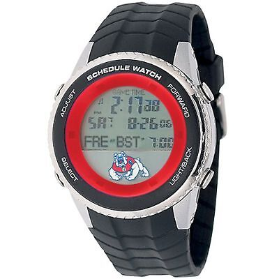 NEW Game Time COL-SW-FRE Men's Fresno State University Schedule Digital Watch ()